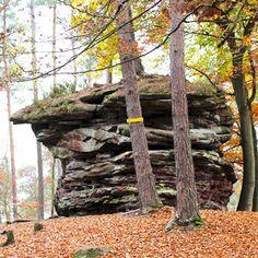 The Teufelsküche in Pfälzerwald in Germany + Die Teufelsküche im Pfälzerwald.   #Germany #Deutschland #travel #reisen Find out more: http://www.nicolos-reiseblog.de