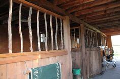 Inside Heartland barn