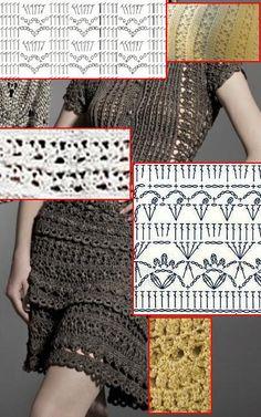 CROCHE DA ANJINHA: Vestido de croche da Vanessa Montoro