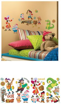 Jake And The Neverland Pirates Wall Stickers   Wall Sticker Outlet