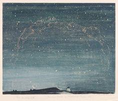 Erich Buchwald Zinnwald, Landschaft, 1919