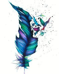 """Break Free"", an a4 watercolour painting. #mizu_art #art #artist #artistic #artists #myart #artwork #illustration #color #colorful #painting #drawing #paintings #watercolor #watercolour #ink #creative"