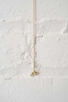 Bike Charm Necklace