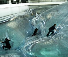 Tomás Saraceno. His latest work, 'On Space Time Foam', is an exploration of…