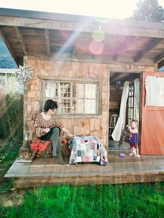 Penelope and Nathan turned a broken down house in North East Portland into a handmade palace full of personality and joy — the perfect spot to raise their 20 month old daughter, Bell