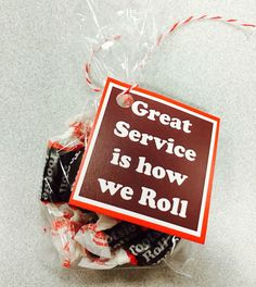 """Great service is how we roll"" customer service week 2015 http://itz-my.com"