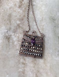 A personal favorite from my Etsy shop https://www.etsy.com/listing/244247453/vintage-marcasite-necklace-pill-box
