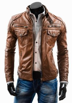 5d9a25a583 Men's leather jacket. Jackets are a vital part of each and every man's  wardrobe. Men will need jackets for assorted moments and several varying  weather ...