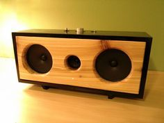 Another awesome looking DIY Bluetooth speaker! | For more pins on DIY Portable Speakers, follow Best Buy Portable Speakers (www.pinterest.com/bestbuyspeakers/)