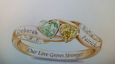 Deborah & Patrick our birthstones