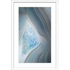 Bermuda Triangle Framed Painting Print