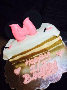 Minnie Mouse Half Birthday cake Kennedy Jaide Pinterest Half