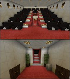 Minecraft Movie Theater Cinema – Alicia Lynd – Source by Minecraft Crafts, Minecraft Bauwerke, Minecraft Villa, Minecraft Mansion, Minecraft House Tutorials, Easy Minecraft Houses, Amazing Minecraft, Minecraft House Designs, Minecraft Construction