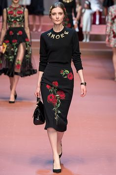 2015 F/W Millan 레디 투 웨어 Dolce & Gabbana