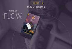 iOS Mobile Tickets APP - UI & UX Inspiration Designs... on Behance