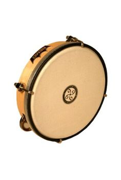 The Bergamo Signature Series Kanjira is key-tuned using small hooks; its counterhoop ring encircles a replaceable drumhead specially developed to...