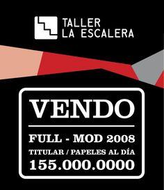 Calcos Vendo Auto Stickers Promo - 3 X $50 La Mejor Calidad - $ 50,00 en MercadoLibre