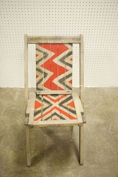 1000 Images About Upcycled Foldable Chairs On Pinterest