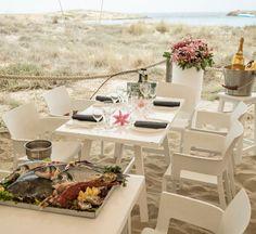 Restaurante Juan y Andrea | En la playa de illetas de Formentera