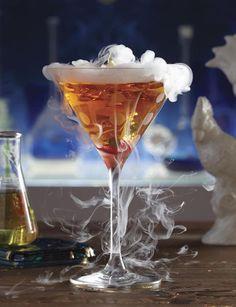 """Courvoisier's """"Graveyard Gruel"""" #Halloween #Cocktails"""