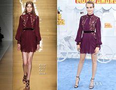 Cara Delevingne In Reem Acra - 2015 MTV Movie Awards