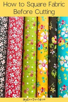 Fabric Crafts, Sewing Crafts, Sewing Hacks, Sewing Projects, Sewing Tips, Quilting For Beginners, Quilting Tips, Quilting Tutorials, Sewing Tutorials