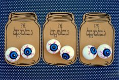 a pretty cool life.: specimen jar halloween party favors {with free printable tags!}