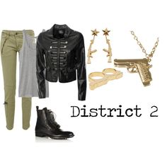 I suppose this is what I'd wear, being from District 2 and all. :)