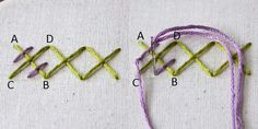 RICE STITCH Any form of embroidery stitching becomes really easy when you start doing it oftenly. There are quick hacks to get the perfect results and the rice stitch is the perfect most effective way of getting your embroidery game strong.