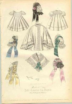 1861 - divers accessoires Victoria et Elizabeth