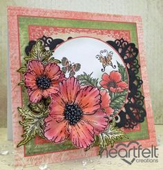 Heartfelt Creations | Blazing Poppies For Any Occassion