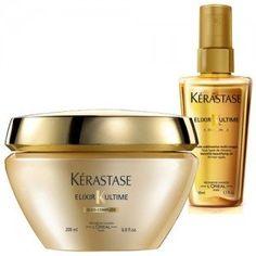 Elixir ultime mask+ oil travel size Μάσκα +λαδι για βαθιά θρέψη, που επανορθώνει απόλυτα τα μαλλιά και χαρίζει χρυσαφένια λάμψη 24 καρατίων. @sadhuhair