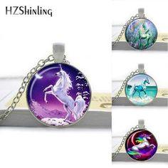 Necklace Unicorn Pendant Unicorn