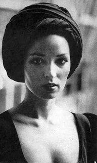 Talitha Getty // Trending : Turbans // 1969 & 70's Boho Rockstar Street + Stage Style // The Jet Set // Glam Bohemian Mashup // Designer Fashion Ideas + Inspiration