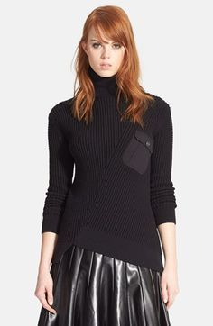 MARC+BY+MARC+JACOBS+Pima+Cotton+&+Silk+Turtleneck+Sweater+available+at+#Nordstrom
