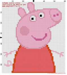 Schema punto croce Peppa Pig (click to view)
