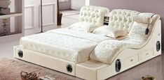 🔴 50 wonderful beds: king size, luxury, for children, Loft. Luxury Bedroom Design, Bedroom Bed Design, Bedding Master Bedroom, Dream Bedroom, Home Bedroom, Modern Bedroom, Bedroom Decor, Bedroom Furniture, Home Furniture