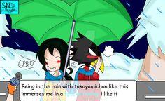 Boku no Hero academia special feeling meme  #Tokotsuyu  Tokoyami x Tsuyu
