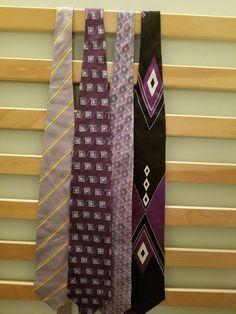 Vintage Multicolor Silk Mens Neckties Lot (4) #Tie #NeckTie #Business