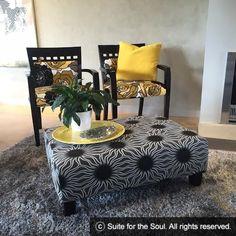 Miss Black Sunshine 4 Restoring Old Furniture, Furniture Restoration, Ottoman, Sunshine, Chair, Pattern, Black, Design, Home Decor