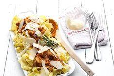 Κοτόπουλο ραγού Food Categories, Lunch Time, Greek Recipes, How To Cook Chicken, Waffles, Tacos, Turkey, Mexican, Meat