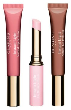 Clarins 'Instant Light - Gloss & Perfect' Lip Trio ($74 Value) available at #Nordstrom
