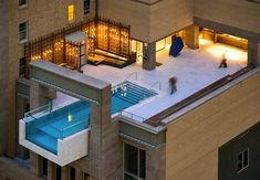 "They say everything's bigger in Texas, and this Dallas pool at the Joule Hotel is no different. It extends eight feet over the side of the building, on the tenth floor. A Plexiglas wall provides a killer view of the city. The hotel describes it as ""breezy sophistication,"" although we know a few fraidy cats who might disagree"