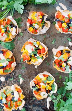 7. Southwest Veggie Won-Ton Cups #muffin #tin #recipes http://greatist.com/eat/portable-muffin-tin-recipes