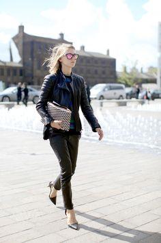 London fashion week street style #LFW