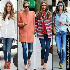 #SkinnyJeans Outfit Ideas from #OliviaPalermo#cute #gorgeous #jumpsuit #highheels #supermodel #model #cute #bob #fashion #style #celebrity #VictoriasSecret #hollywood #star #lovely #beautiful #Love #boots #black #pretty#stylish #VictoriasSecretangel #lookbook #look #ootd #outfit #heels... - Celebrity Fashion