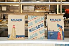 Smack Lobster Roll – branding by & SMITH design.