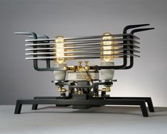 Steam On•❀•Steampunk — Oh, So Steamy~ Unique Sculptural Lamp Designs by...