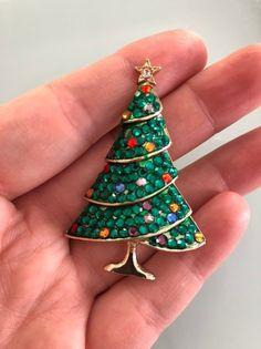 pedrería Aretes tannenbaum abeto navidad