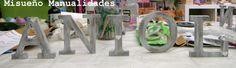 El resultado de uno de los talleres de decoración de letras de madera estilo vintage, marzo 2015 en Misueño Manualidades. Esta creación es de P. y le ha quedado preciosa!  www.misuenyo.com / www.misuenyo.es Washi, Bookends, Decoupage, Home Decor, Wood Letters, Vintage Style, March, The Creation, Mosaics